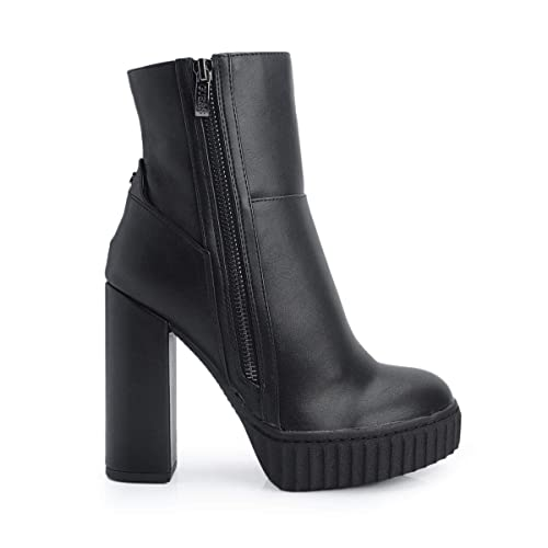 Y Botine Mujer Flgio4ele10 Guess Complementos Amazon Zapatos es YqzwxTvR