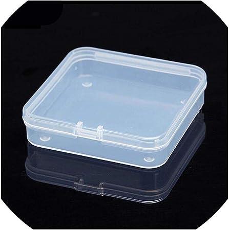 21 Tamaños de plástico transparente con tapa pequeña para las ...