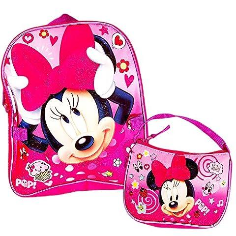 Disney Minnie Mouse Preschool Backpack Toddler (11