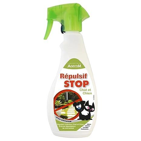 Essentiel–Repelente de exterior STOP en spray para perros ...