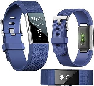 Fitness Tracker, ANGGO Smart Bluetooth impermeabile contapassi fitness braccialetto sportivo Wristband con cardiofrequenzimetro, contapassi/contatore di calorie, promemoria chiamate per iPhone Android