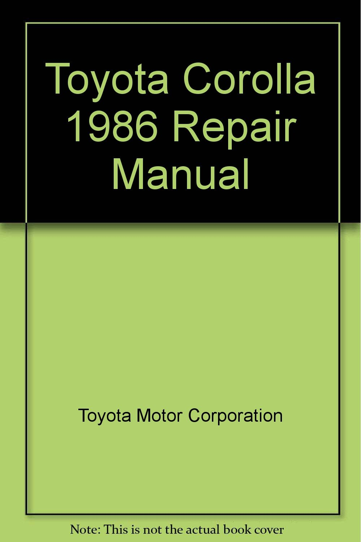 corolla 1986 service manual