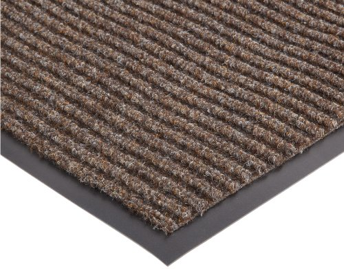 (NoTrax 117 Heritage Rib Entrance Mat, for Lobbies and Indoor Entranceways, 4' Width x 6' Length x 3/8