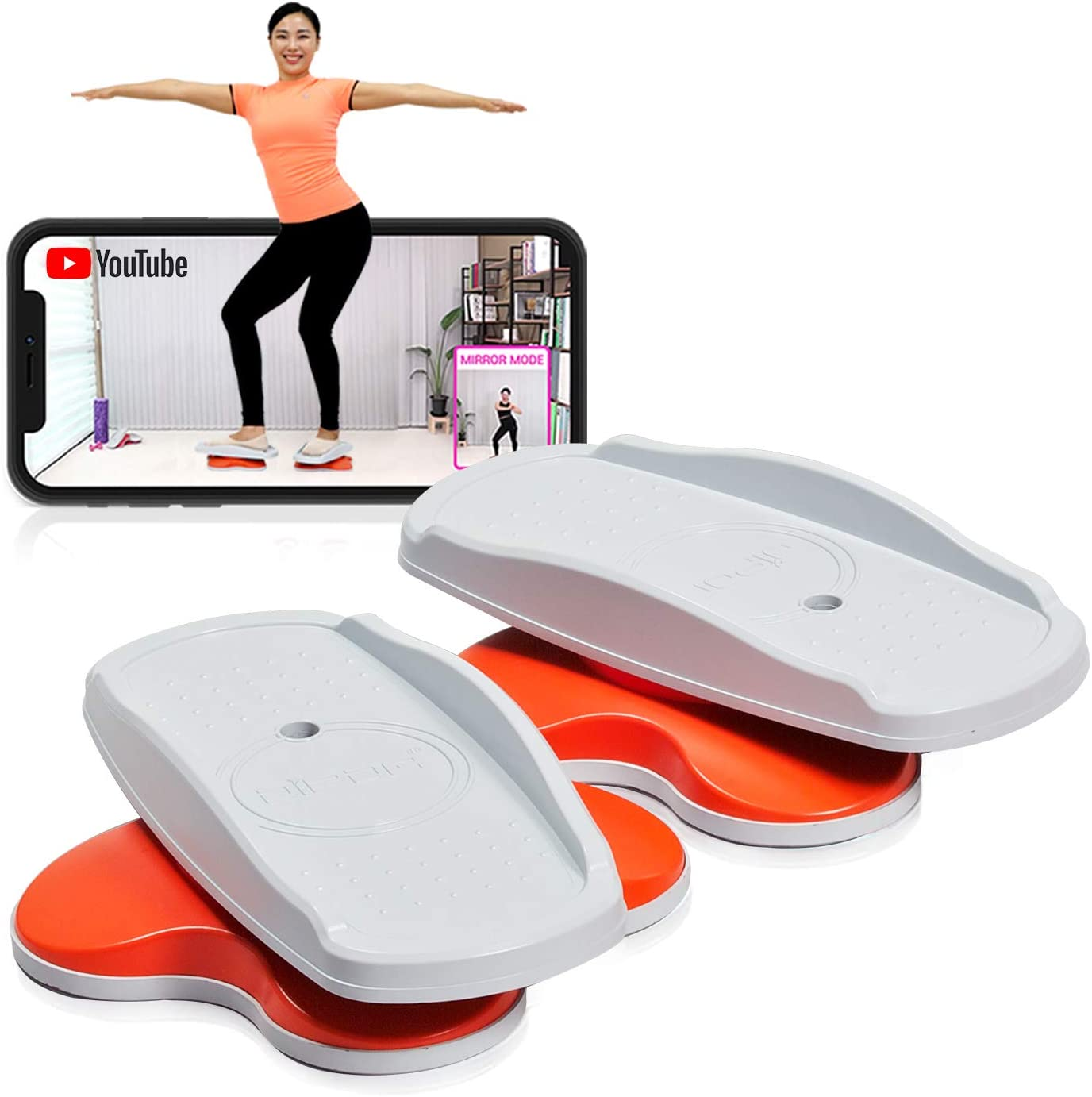 DIPDA LINE Stepper Twisting Indoor Workout Equipment Fitness Cardio Exercise with Bonus Dance Video and APP Guide 3.3 pounds 1.5 Kg Portable Celebrating AMZN Choice's Limited Deals! : Sports & Outdoors