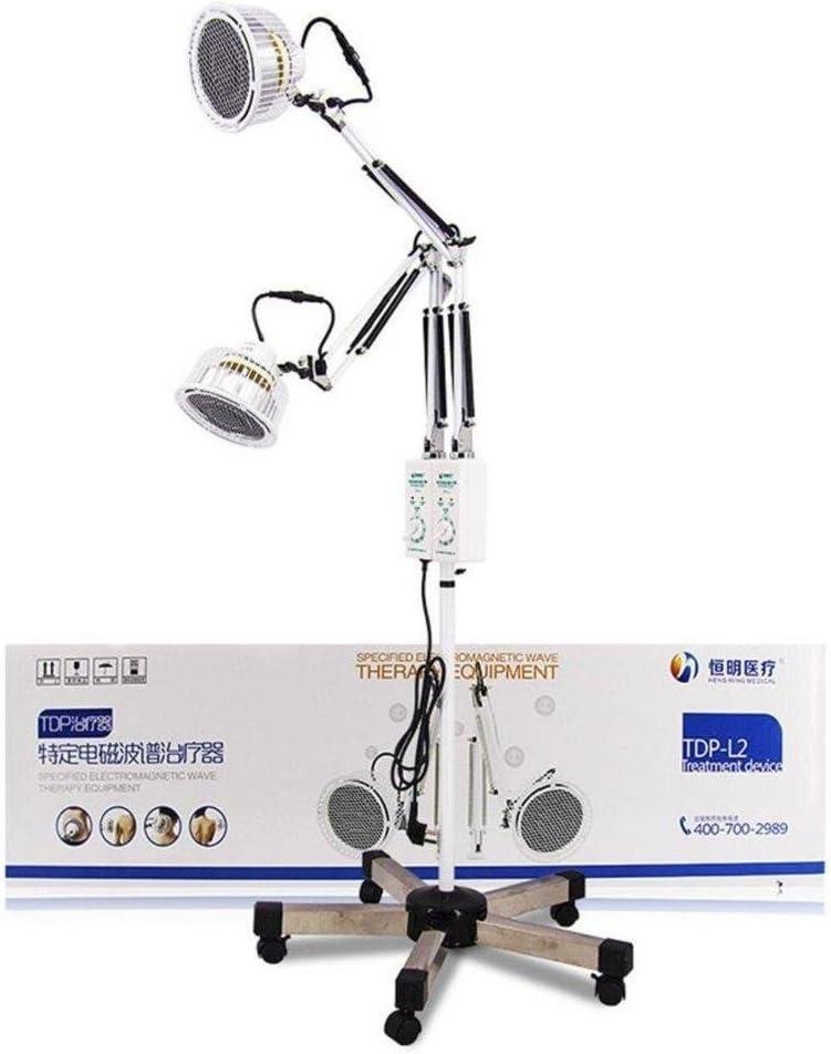 Lámpara de calor con dos cabezales Terapia médica mineral electromagnética para aliviar el dolor Tratamiento flexible y ajustable TDP 2x230W