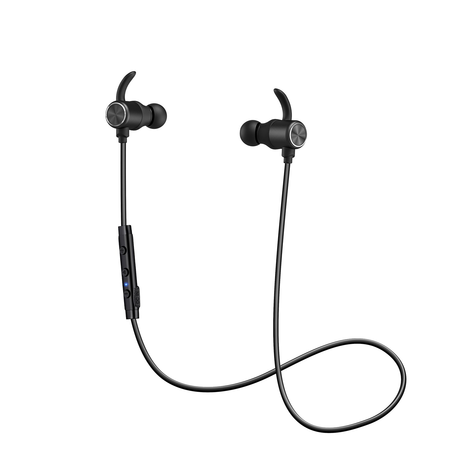 Bluetooth Headphones, ENACFIRE aptx Stereo Sound Magnetic Wireless Earbuds Sport In-Ear Sweatproof Earphones with Mic for Sports with 8H Playtime