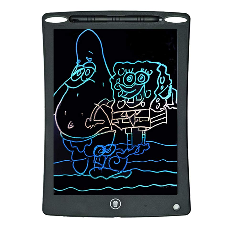 School and Office Educational Writing Board for Kids and Adults at Home Erasable Reusable Writing Pad LCD Writing Tablet 10 Inch,Jabcina Colorful Magnetic Doodle Board Drawing Board