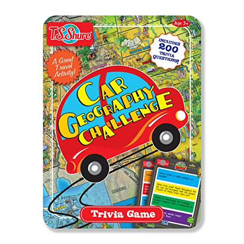 T.S. Shure Car Geography Challenge Magnetic Trivia ()