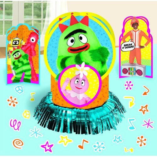 Hip and Hop Yo Gabba Table Decorating Kit Birthday Party Decorations, 12-1/2