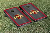 NCAA Iowa State Cyclones Onyx Stained Border Version Cornhole