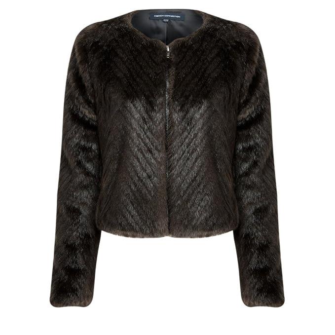 French Connection - Abrigos y chaquetas - Abrigos y chaquetas de piel sintética - de color