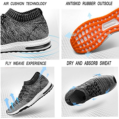 Sportifs Lgres Poids Sport Tucsson Lgers Course Sneakers Flyknit De Fitness Pour Chaussures Air OwqZa