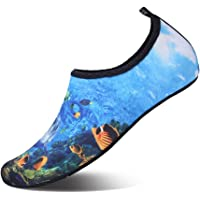JOINFREE Women's Men's Kid Summer Water Shoes Barefoot Shoe Quick Dry Aqua Socks Yoga