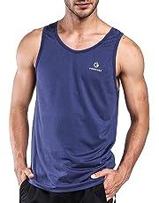 c17e6a29d89585 Ogeenier Men s Running Tank Top Shirt Fitness Tank Top Singlet