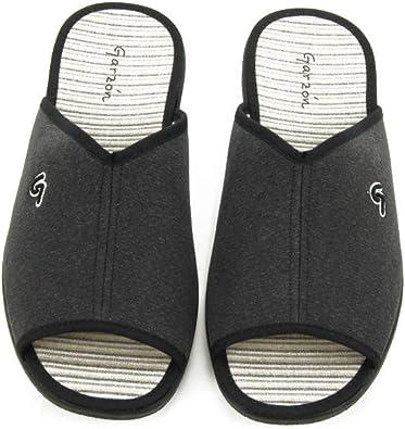 GARZON - Zapatilla CASA 6971-GRS para: Hombre Color: Gris Talla: 40: Amazon.es: Zapatos y complementos