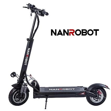 NANROBOT D5 + Potente Scooter eléctrico con Potencia de ...