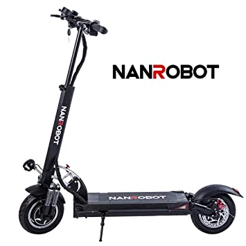 Amazon.com : NANROBOT D5+ Powerful Electric Scooter with ...