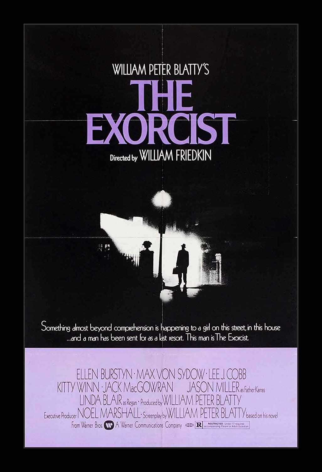 Wallspace 11x17 Framed Movie Poster - The Exorcist