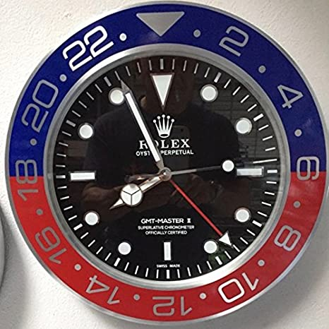 replica Rolex 35 mm de Pared GMT II Master Pepsi Metal Movimiento silencioso + 2 CD Audio: Amazon.es: Hogar