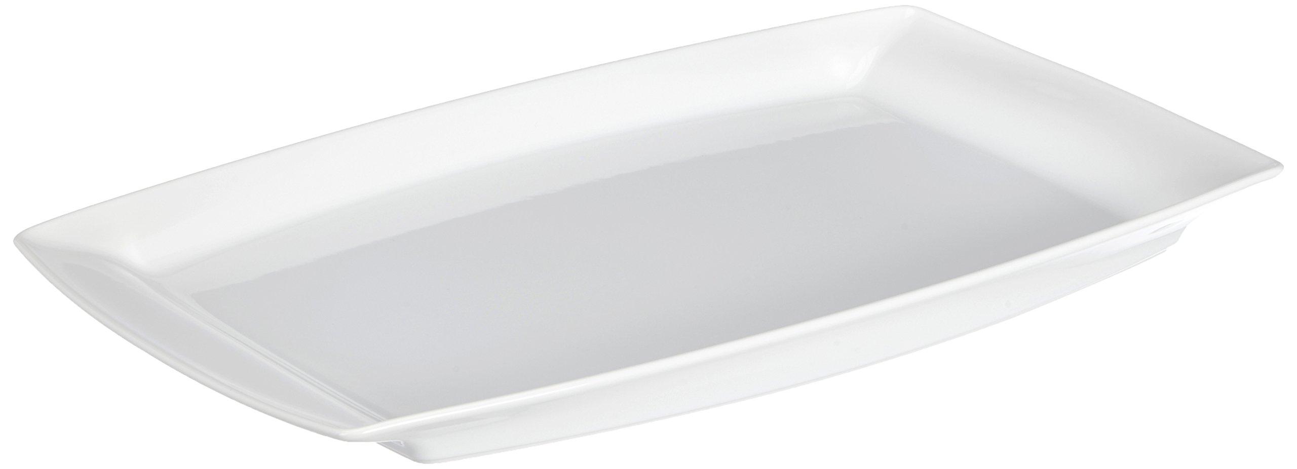 REVOL 004345 AL04325 Buffet Serving Dish, 20.75'' x 12.75'' x 1.5'', White by Revol (Image #1)