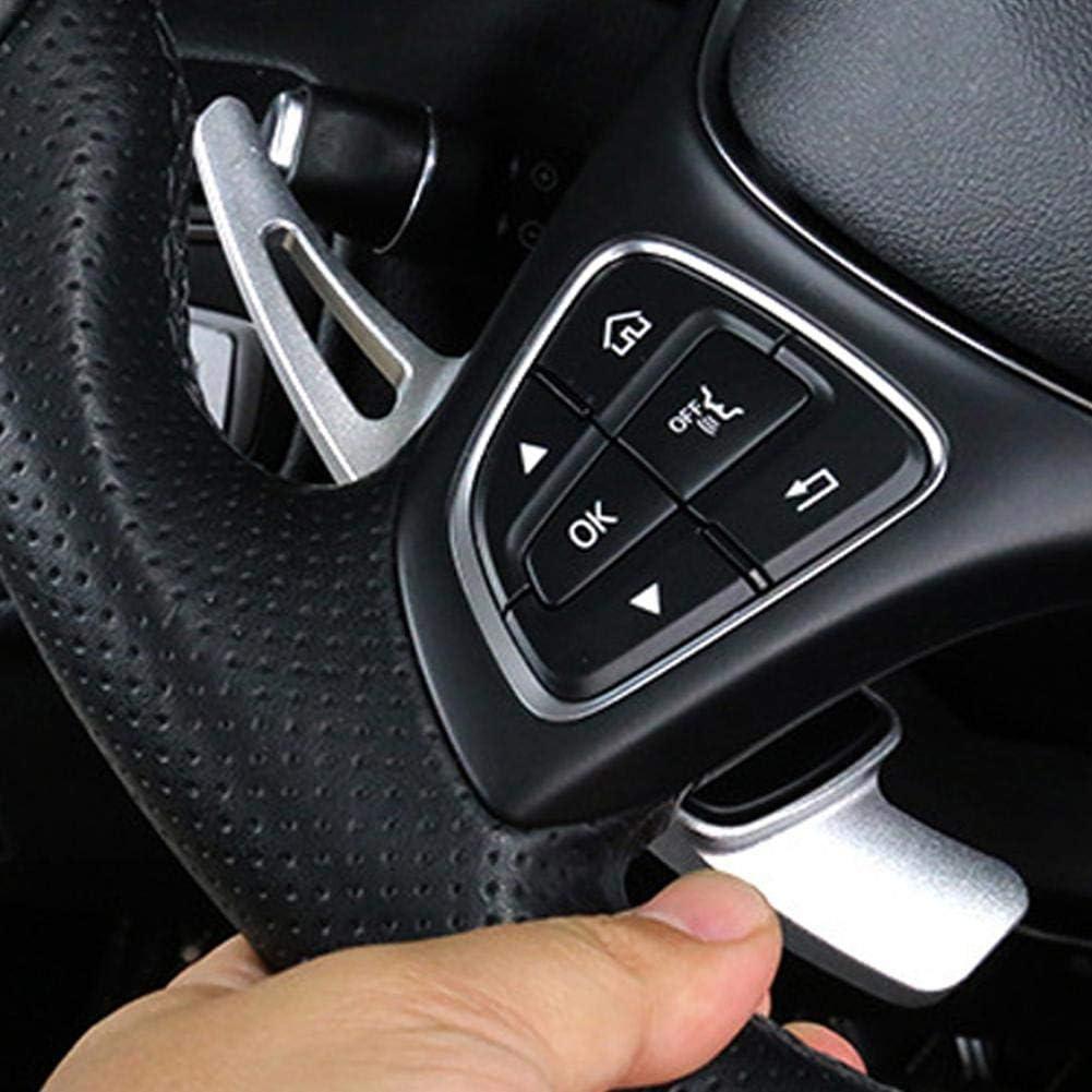 Dreameryoly 2pcs palettes de Changement de Volant de Direction en Aluminium pour Mercedes-Benz Classe B Classe C Classe E Classe GLK Classe GLE Pi/èces d/écoratives modifi/ées