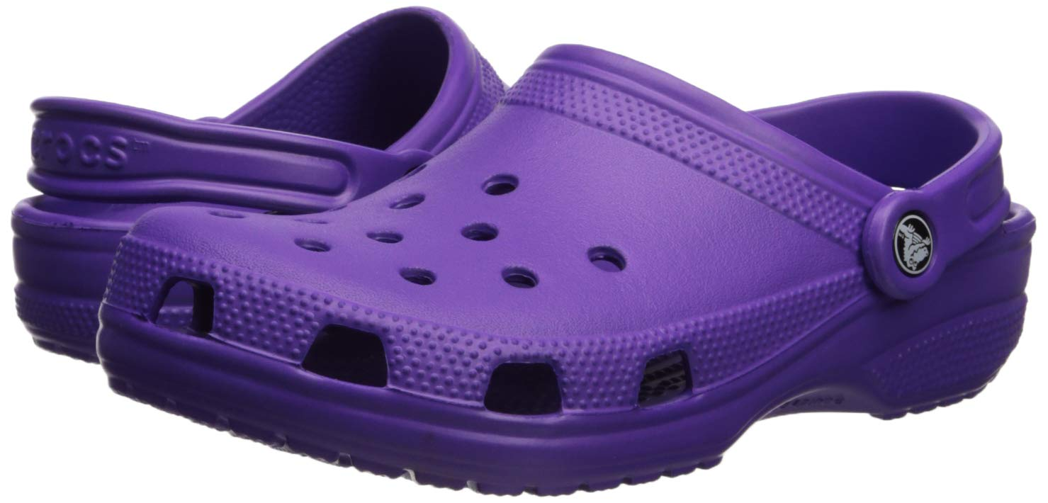 Crocs Classic Clog Adults, neon Purple 11 M US Women / 9 M US Men by Crocs (Image #5)