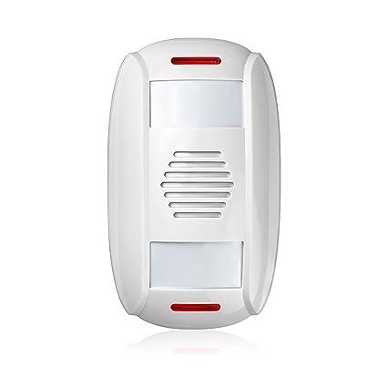 KERUI Alarma Detector de movimiento con tienda puerta entrada timbre/Bell PIR Sensor de movimiento