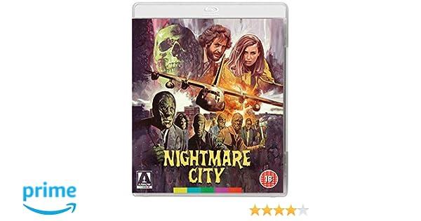 Nightmare City Dual Format Blu-ray + DVD Reino Unido Blu-ray: Amazon.es: Hugo Stiglitz, Laura Trotter, Mel Ferrer, Maria Rosaria Omaggio, Francisco Rabal, ...
