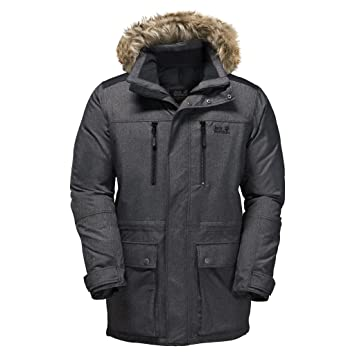 Amazon.com: Jack Wolfskin Men's The Bering Polar Parka: Sports ...