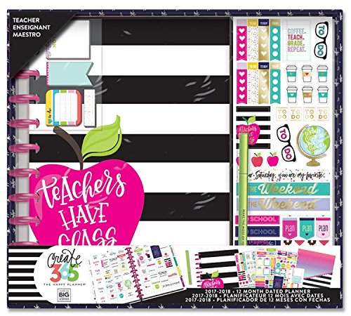 Create 365 The Happy Planner Box Kit, BIG Teacher Edition, Teachers Have Class