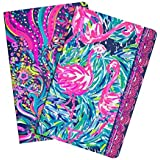 lilly pulitzer pocket notebook, wellness (student)