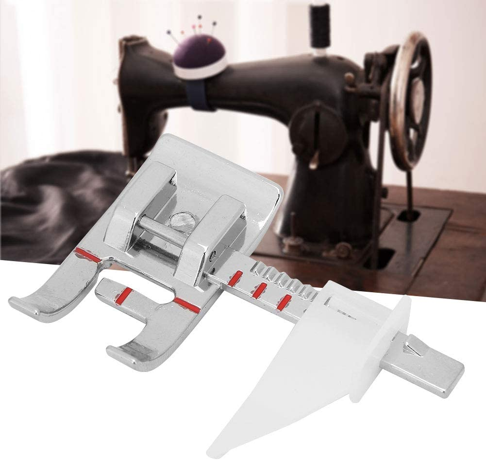 Guía ajustable Máquina de coser Prensatelas Piest Regla de costura ...