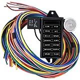 Amazon.com: Wisamic 10 Circuit Basic Wiring Harness Fuse Box Street on