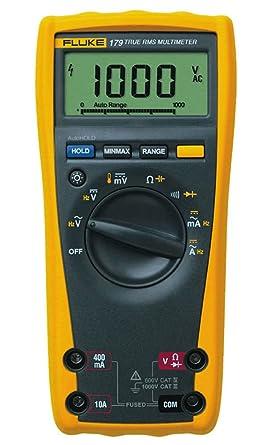 fluke 179 digital multimeter amazon in industrial scientific rh amazon in fluke 179 dmm manual fluke meter 179 manual