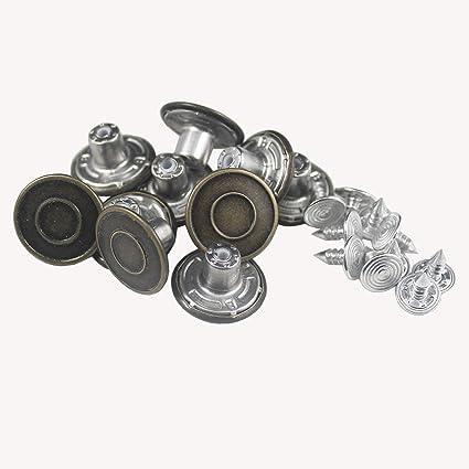 Amazon Com 10 Botones Para Jeans De Hombre Repuesto Instantaneo De Botones Para Tiradores Arte Manualidades Y Costura