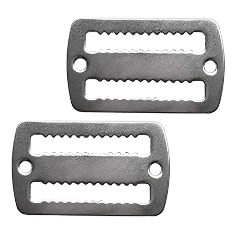 1//2PCS Stainless Steel for Diving Weight Belt Keeper Retainer Buckle Accessories