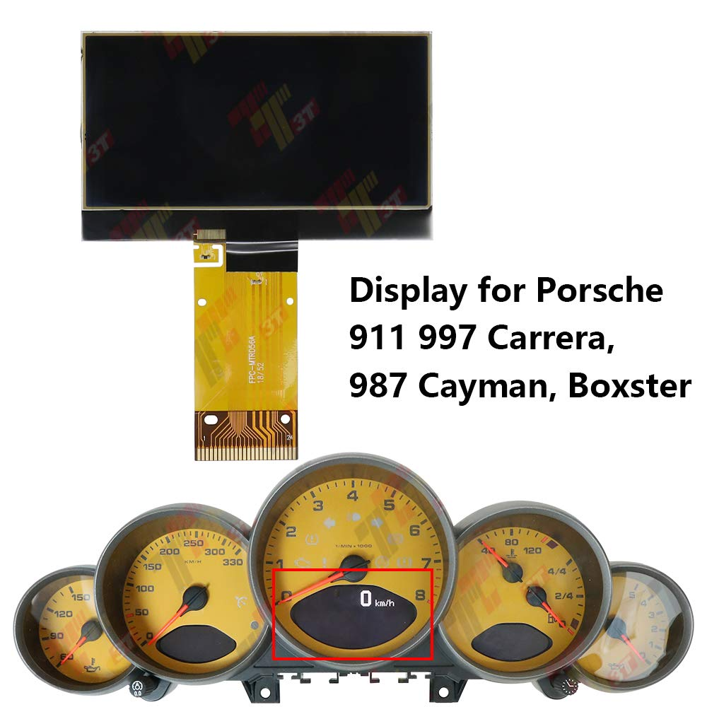 987 Cayman Boxster Speedometer Display for Porsche 911 997 Carrera