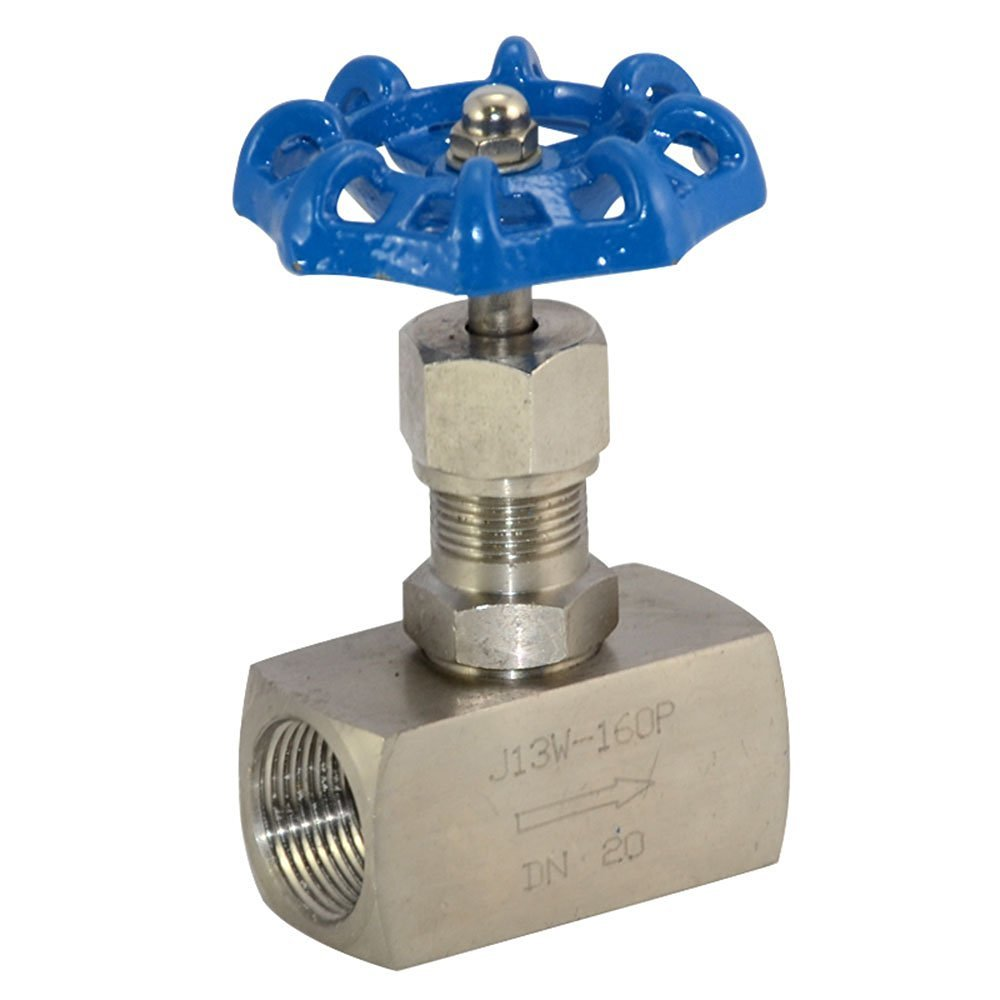 High Pressure Needle Valve DN20 3//4 Female Thread J13W 160P Stainless Steel 316 NPT LINGJUN