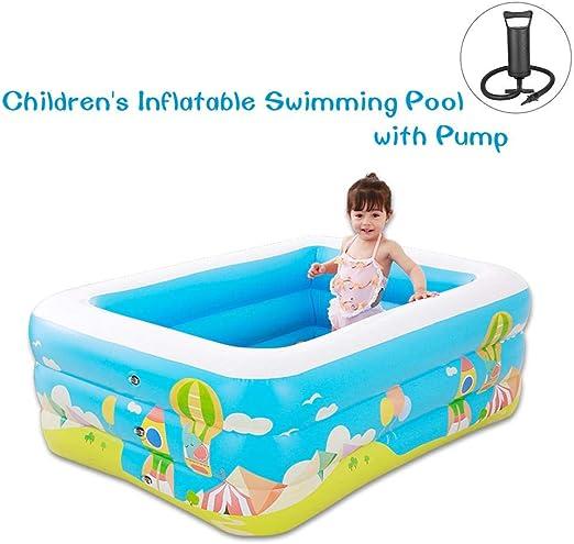 piscina hinchable para niños con bomba - piscina hinchable para la ...