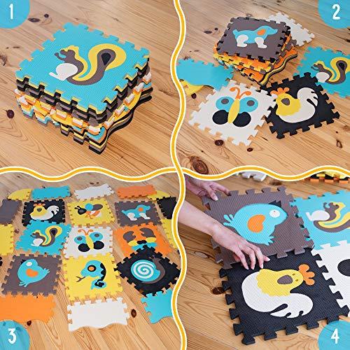 Baby Play MAT Baby MAT Kids Rug Play MAT Game MAT Floor Tile Foam Pads Foam Padding Rug Kids Kid Rug Tile Flooring Baby…