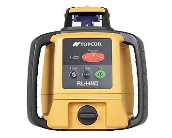 9cf9307fb20c2 Topcon Rl-h4 C Laser rotatif horizontal Niveau sec rechargeable ...