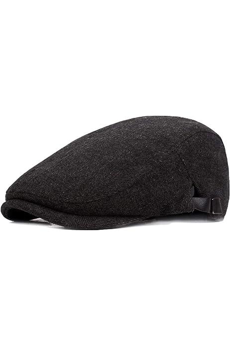 IZUS Breathable Beret Hat Mesh Newsboy Cap Men