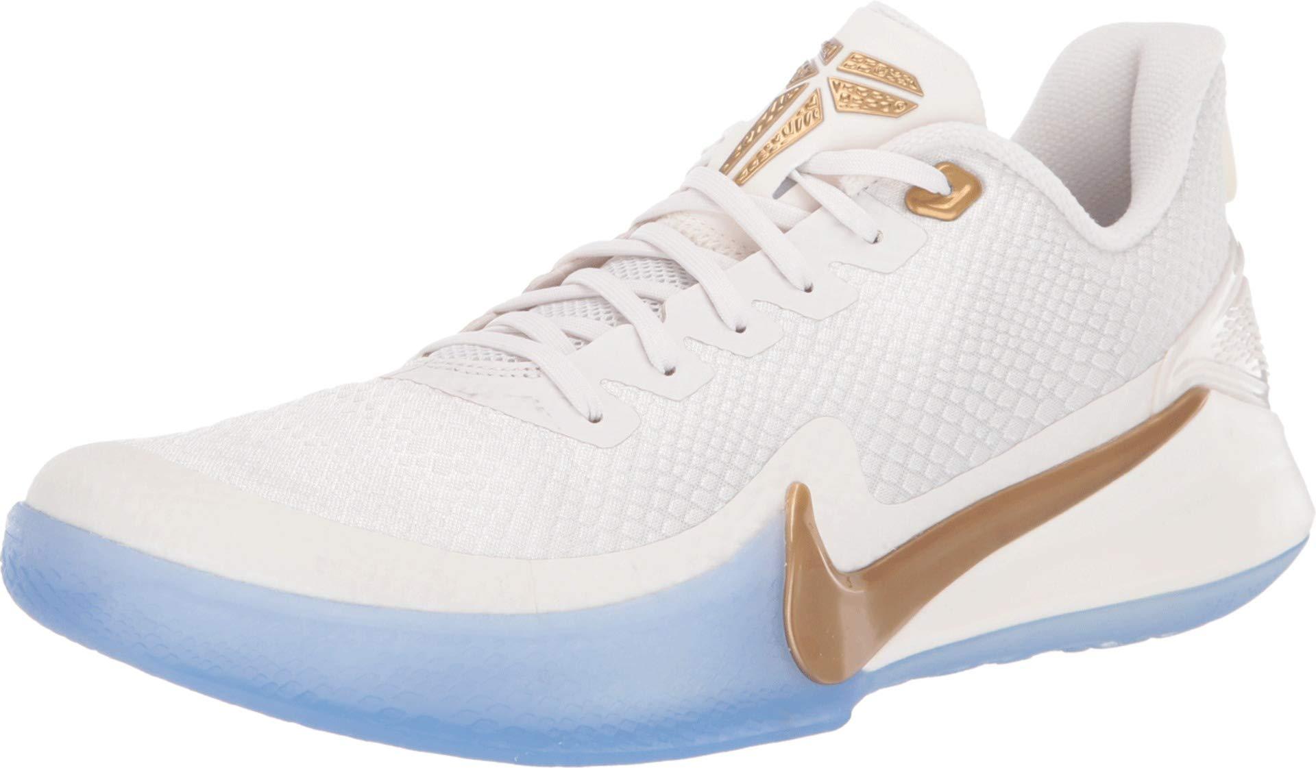 Nike Mamba Focus [AJ5899-004] Men Basketball Shoes Kobe Bryant Phantom/Gold/US 10.5 by Nike