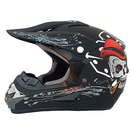 Amazon.es: Cascos de moto Boy Girl Ciclismo de protección ...