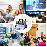 Luxja Projector Case,Projector Bag with Accessories
