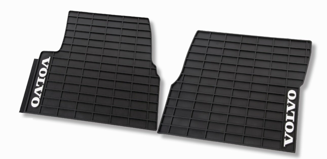 Truck Floor Mats >> Amazon Com Volvo Truck 85111523 Interior Rubber Floor Mats Automotive