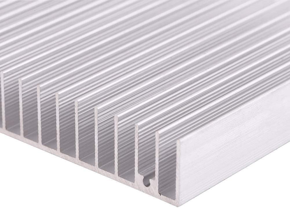 Samfox Aluminum Heat Sink Heatsink Module Cooler Good Thermal Conductivity Heat Sink Cooling Fin 10010018MM
