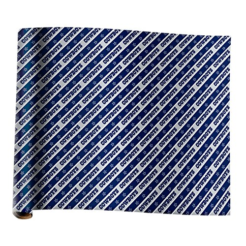 Dallas Cowboys Team Gift Wrap - Stores Sports Dallas