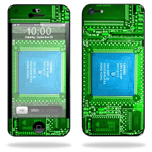 Mightyskins Protective Vinyl Skin Decal Cover for Apple iPhone 5/5s/SE 16GB 32GB 64GB Cell Phone wrap sticker skins Circuit Board