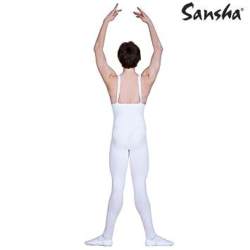 SANSHA D032C OLIVIER Vêtements de danse Collants pour Homme en Coton Lycra  - Noir - 525578b9eed